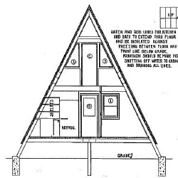 36 foot high a frame house plans - A Frame House Plans