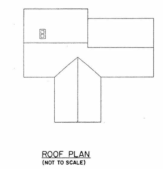 Ranch Home Plan for Sloped Lot with Carport