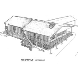 Ranch Home Plan with Carport
